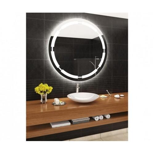 Зеркало с подсветкой для ванной комнаты Юдина